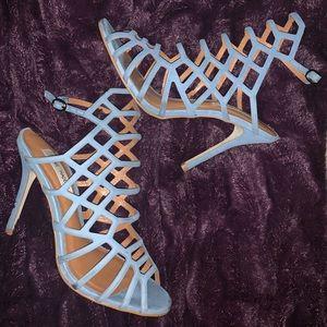 Steve Madden - Slithur Heels in Light Blue